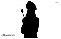 Japanese Catering Chef Silhouette