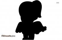 Female Cupid Silhouette