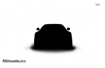 Black Sedan Car Silhouette Image