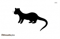 Canidae Silhouette Illustration