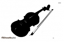 Violin Silhouette Vector And Graphics