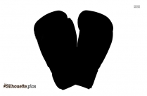 Oven Mitt Silhouette Vector And Graphics