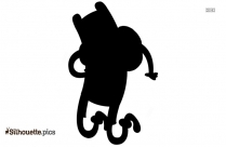 Pochacco Character Silhouette Vector And Graphics