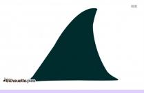 Green Fish Silhouette