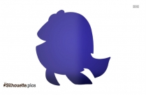 Finding Dory Clip Art Silhouette