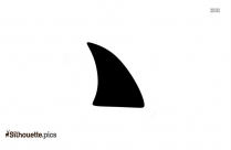 Seafood Fins Clipart Silhouette