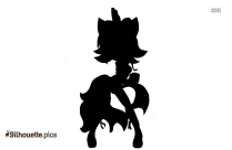 Tails The Fox Silhouette Illustration