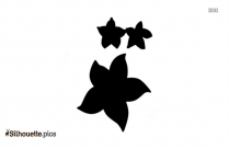 Disney Flowers Silhouette