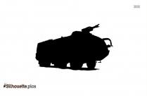Heavy Duty Truck Silhouette Clipart