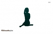 Yoga Fire Log Pose Silhouette Illustration