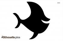 Tuna Fish Silhouette Image