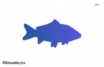 Fish Drawing Silhouette Background