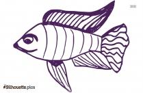 Fish Drawing Symbol Silhouette