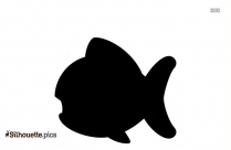 Colorful Fish Silhouette Image Vector
