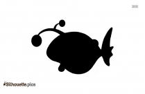 Cartoon Cartoon Salmon Silhouette