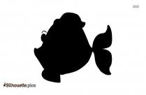 Fish Valentine Silhouette Icon