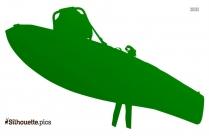 Fishing Kayak Silhouette