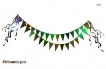 Flag Toran Designs Silhouette Clip Art
