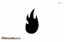 Flame Silhouette