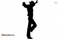 Flamenco Male Dancer Silhouette