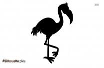 Flamingo Silhouette Clip Art