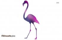 Flamingo Silhouette Painting