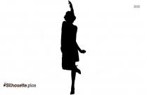 Flapper Girl Silhouette