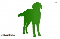 Irish Wolfhound Silhouette Clipart