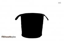Basket Barrel Pottery Silhouette