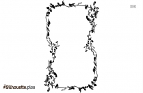 Black And White Printable Borders Silhouette