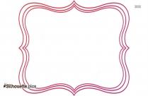 Pink Hair Brush Silhouette