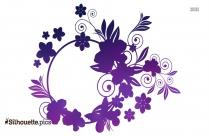 Rosemary Flower Silhouette