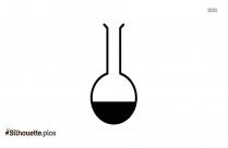 Laboratory Science Beaker Silhouette Free Download