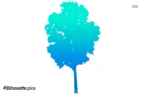 Aspen Tree Silhouette Free Vector Art