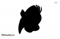 Aquatic Fish Silhouette