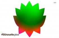 Simplified Lotus Silhouette