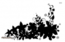 Flower Designs Silhouette