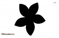 Sunnflower Silhouette Image, Flower Clipart