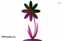 Peony Flower Clipart Silhouette
