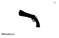 Gun Drawings Silhouette Clip Art