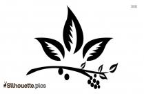 Flower Silhouette Clip Art