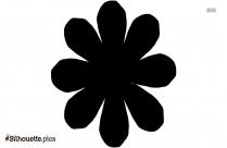 Flower Silhouette Drawing Art