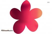 Flower Silhouette Image