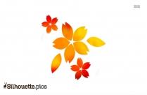 Flower Silhouette Tattoo