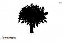 Flower Divider Clipart Silhouette