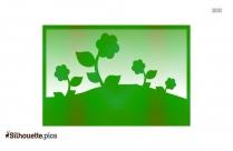 Gardening Clip Art Silhouette