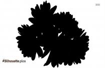 Hydrangea Flowers Silhouette