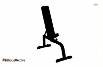 Heavy Bench Flyes Silhouette Free Vector Art