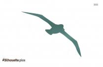Cartoon Bird Flying Silhouette