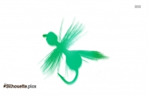 Flying Ant Silhouette Icon